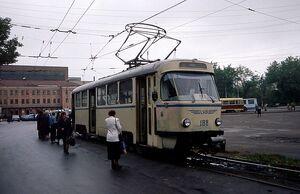 У ВАСО трамвай