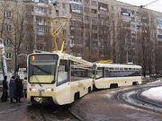 Saratov trams 1002 1004
