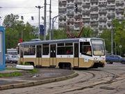 Tram KTM19 Moscow VDNH
