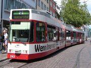 GT8Z Tramway de Freiburg VAG