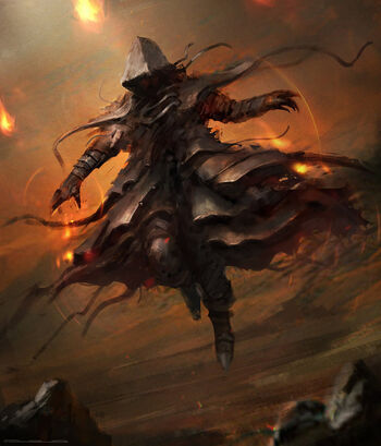 Fire spell modified by cloudminedesign-d6rqry1-jumping-assassin-hooded-figure
