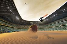 Giant sandworm battle arena by honionb-d5mvlf0