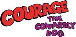 Cartoon Network's Courage the Cowardly Dog - TV Series Logo