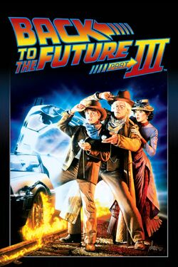 Back to the Future Part III - iTunes Movie Poster