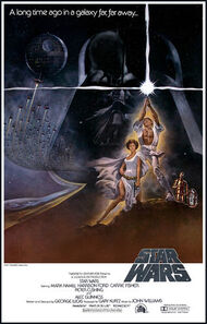 Star Wars Style A poster 1977