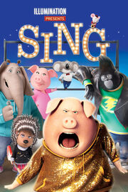 Universal and Illumination's Sing - iTunes Movie Poster