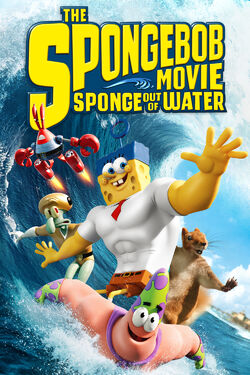 Nickelodeon's The Spongebob Movie - Sponge Out of Water - iTunes Movie Poster