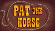 PattheHorsetitlecard