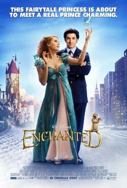 Disney's Enchanted - Theatrical Poster