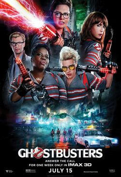 Ghostbusters - 2016 - Theatrical Film Poster