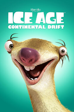 20th Century Fox and Blue Sky's Ice Age - Continential Drift - iTunes Movie Poster