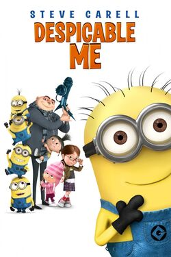 Universal's Despicable Me - iTunes Movie Poster