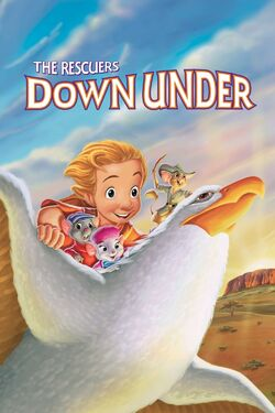 Disney's The Rescuers Down Under - iTunes Movie Poster