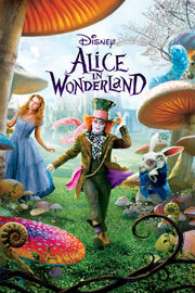 Disney's Alice in Wonderland - 2010 iTunes Movie Poster