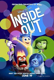 Disney and Pixar's Inside Out - Theatrical Poster