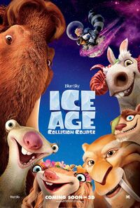 20th Century Fox and Blue Sky's Ice Age - Collision Course - Theatrical Poster