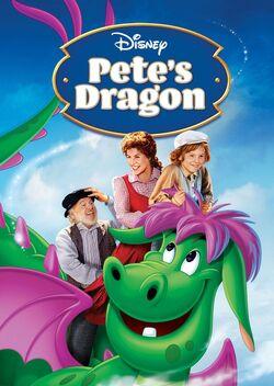 Disney's Pete's Dragon - iTunes Movie Poster