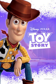 Disney and Pixar's Toy Story - iTunes Movie Poster