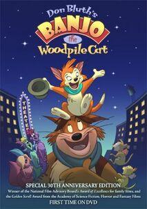 Banjo the Woodpile Cat DVD Poster