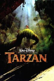 Disney's Tarzan - Theatrical Poster
