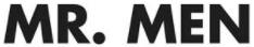 MR. MEN Logo