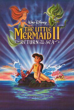 Disney's The Little Mermaid II - DVD Poster