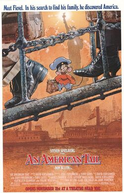 Universal and Don Bluth's An American Tail - Theatrical Poster