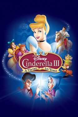 Disney's Cinderella III - A Twist in Time - iTunes Movie Poster