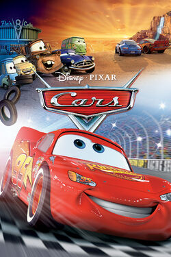 Disney and Pixar's Cars - iTunes Movie Poster