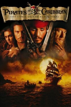 Disney's Pirates of the Caribbean - The Curse of the Black Pearl - iTunes Movie Poster