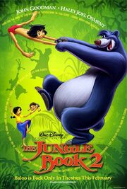 Disney's The Jungle Book 2 - Theatrical Poster
