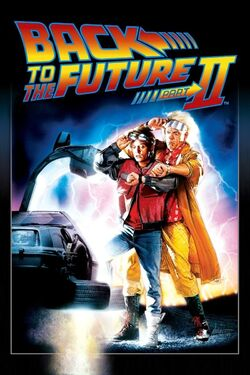 Back to the Future Part II - iTunes Movie Poster