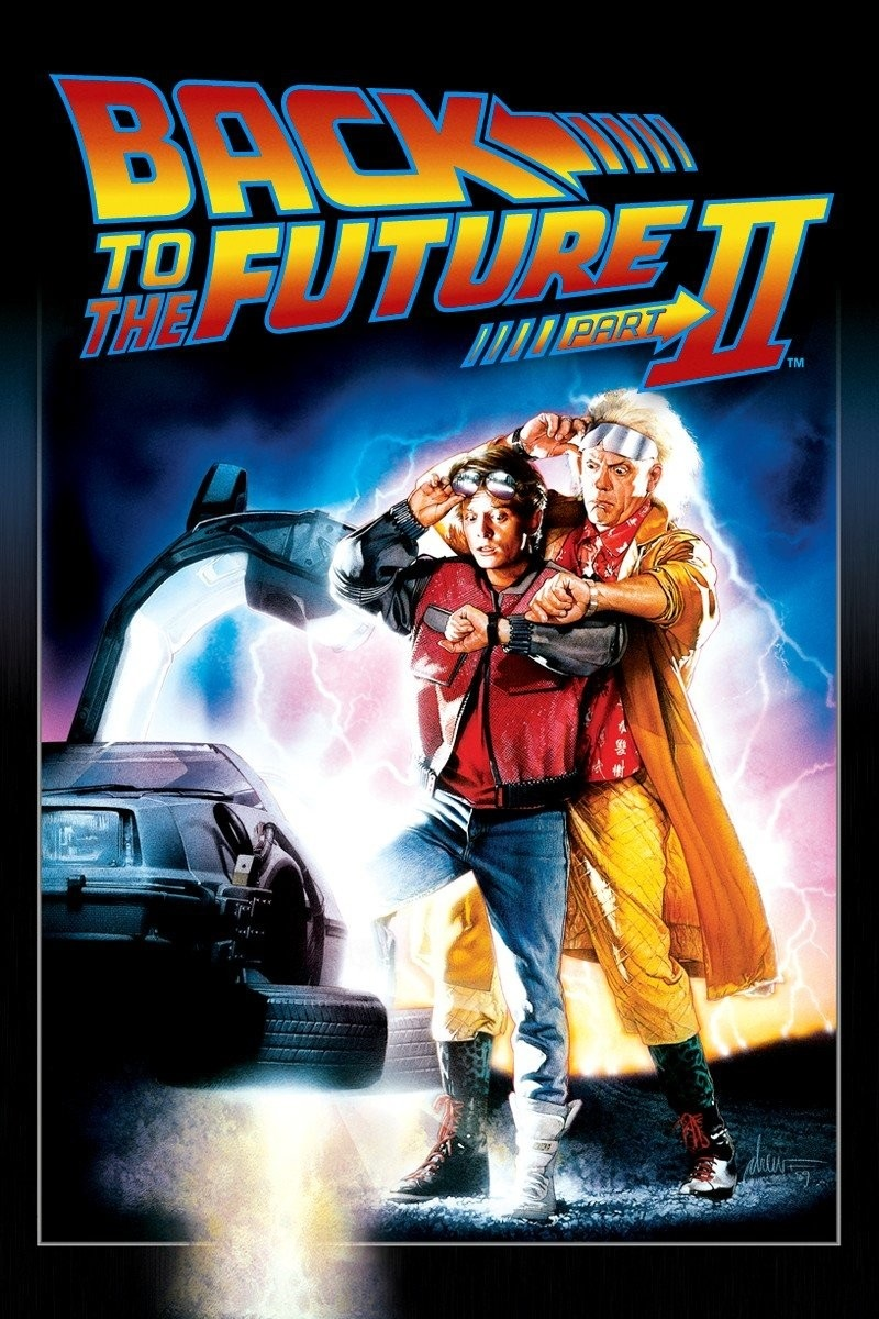 ecae688c5b9 Back to the Future Part II - iTunes Movie Poster