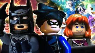 Lego Batman Rises FULL MOVIE