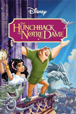 Disney's The Hunchback of Notre Dame - DVD Poster