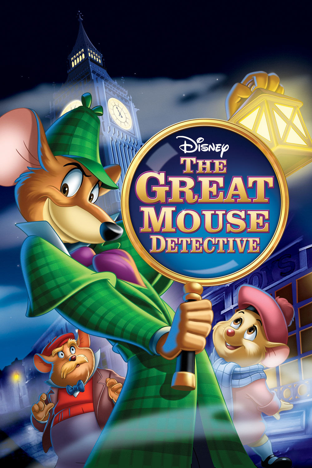 the great mouse detective basil and dawson are caught