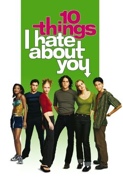 Touchstone Pictures' 10 Things I Hate About You - iTunes Movie Poster