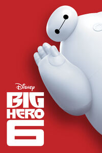 Disney's Big Hero 6 - iTunes Movie Poster