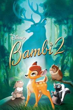 Disney's Bambi II - iTunes DVD Poster