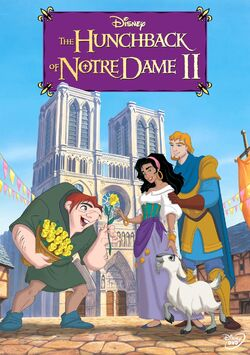 Disney's The Hunchback of Notre Dame II - DVD Movie Poster