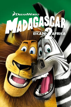 DreamWorks' Madagascar - Escape 2 Africa - iTunes Movie Poster
