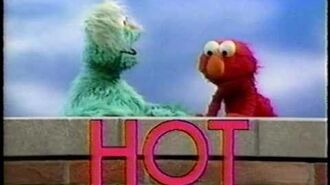 "Sesame Street - Elmo and Rosita and ""HOT"""