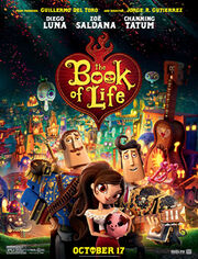 The Book of Life (2014 film) poster