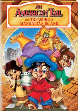 Universal's An American Tail - The Treasure of Manhattan Island - DVD Cover