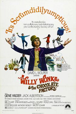 Warner Bros.' Willy Wonka and the Chocolate Factory - Theatrical Poster