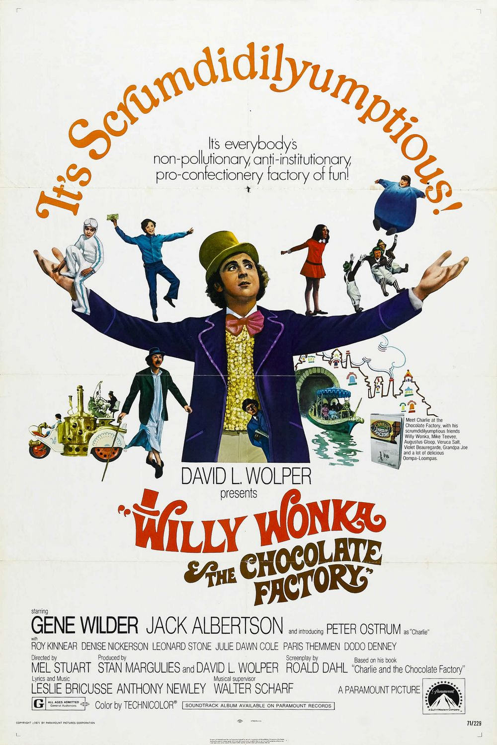 willy wonka the chocolate factory transcripts wiki fandom  039 willy wonka and the chocolate factory theatrical poster