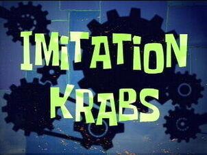 Imitation Krabs title