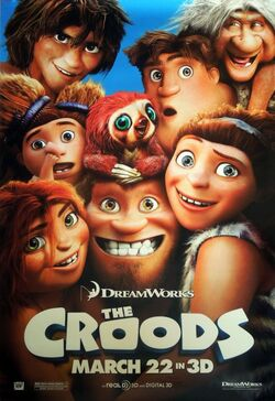 DreamWorks' The Croods - Theatrical Poster