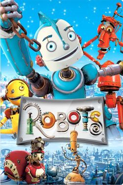Blue Sky's Robots - iTunes DVD Movie Poster