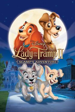 Disney's Lady and the Tramp II - Scamp's Adventure - iTunes DVD Poster